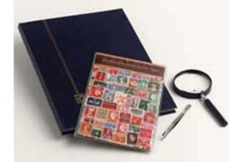 Nederland voor 1960 Postzegelpakket incl. insteekboek, pincet en loupe