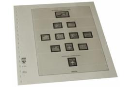 Lindner Inhouden / T-Voordruk albumbladen met folie voorbladen met stroken (Inhoud) Duitse Democratische Republiek; Papierverschillen 1989-1990 (1 blad) (Lindner 121S)