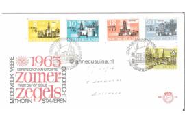 Nederland NVPH E74 Beschreven FOTOLEVERING Zomer 1965