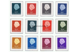 Nederland NVPH 618b-634b Postfris FOSFOR Koningin Juliana En Profil Lage waarden 1953-1967