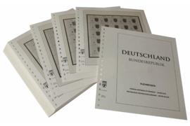 Lindner Inhouden / T-Voordruk albumbladen met folie voorbladen met stroken (Inhoud) Vellen van 10; 1992-1994 (69 bladen) (Lindner 120BK-92)