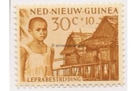 NVPH 44 Postfris (30+10 cent) Leprazegels 1956
