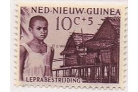 NVPH 42 Postfris (10+5 cent) Leprazegels 1956