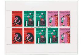 NVPH 899 Postfris Blok Kinderzegels, kinderversjes 1967