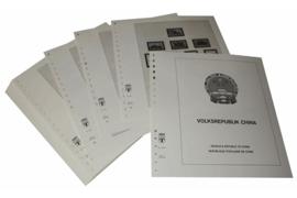 Lindner Inhouden / T-Voordruk albumbladen met folie voorbladen met stroken (Inhoud) China Volksrepubliek 1960-1965 (47 bladen) (Lindner 159-60)