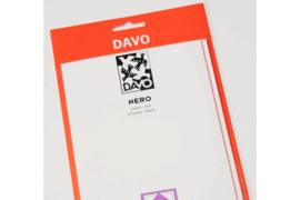 """DAVO Nero stroken """"Kant en Klaar"""" (21 x 25) 50 stuks"""