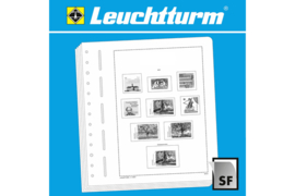 Leuchtturm (Lighthouse) Supplement / Voorbedrukte albumbladen met klemstroken Vaticaan 2004 (Leuchtturm/Lighthouse xxx xxx)