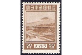 Sumatra NVPH JS11 (50 cent) Ongebruikt Frankeerzegels 1943-1944