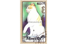 Mongolië Michel 2332 Gestempeld Katten 1991