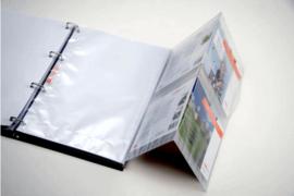 DAVO Mappen PZM (Postzegelmapjes) drieluik (per stuk)