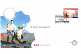 Nederland NVPH PBZ4 Onbeschreven Vroom & Dreesmann 2002