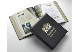 DAVO Luxe postzegelalbum Nederland Geillustreerd Verzamelen I 2000-2007 INCL. LUXE CASSETTE