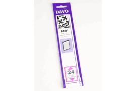 DAVO Easy stroken zwart Z24 (215 x 28) 25 stuks