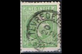 WELTEVREDEN 20-2-188x op NVPH 8 (SvL 2)