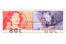 NVPH 1561a-1562a (Paar/Samenhangend) Postfris Radio Oranje 1993