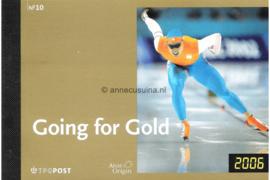 NVPH PR10 Postfris Prestigeboekje Olympische Spelen Going for Gold 2006