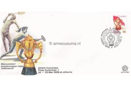 Indonesië Zonnebloem SHP-9/1989 De 1ste 'Sudirman Cup' badminton-kampioenschappen 1989