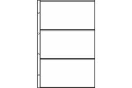 Hartberger FDC 3-vaks bladen (per stuk)