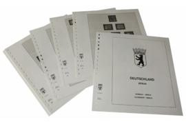 Lindner Inhouden / T-Voordruk albumbladen met folie voorbladen met stroken (Inhoud) Berlijn 1960-1969 (16 bladen) (Lindner 120C-60)