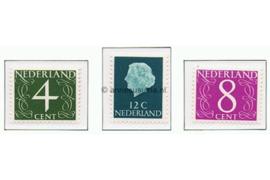 NVPH 774-776 Postfris Frankeerzegels gedrukt op flourescerend papier (Gouda zegels) 1962