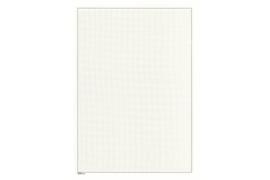 Lindner Blanco blad  Wit karton, Zwarte kaderlijn, Grijze raster/netonderdruk (199 x 286) (Lindner 805a) (per stuk)