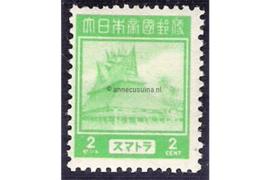 Sumatra NVPH JS2 (2 cent) Ongebruikt Frankeerzegels 1943-1944