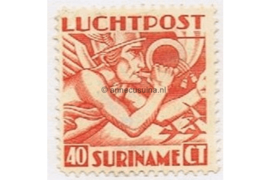 Suriname NVPH LP4 Postfris (40 cent) Mercuriuskop 1930