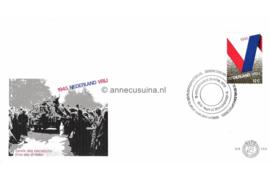 Nederland NVPH E105 Onbeschreven 1e Dag-enveloppe  Bevrijding 1970