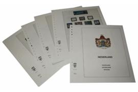 Lindner Inhouden / T-Voordruk albumbladen met folie voorbladen met stroken (Inhoud) Nederland 2005-2009 in kleur (46 bladen) (Lindner 191-05)