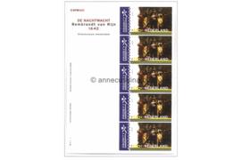 Nederland NVPH V1907 Postfris Velletje De Nachtwacht 2000