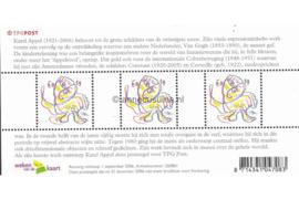 Nederland NVPH 2438 Postfris Blok met 3 zegels van 0,39 euro meerkleurig 2006