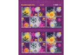 Nederland NVPH V2446-2455 Postfris Decemberzegels zelfklevend 2006