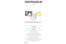 Nederland Importa EDB101 (NVPH 1515-1516) Eerstedagblad 150 jaar Technische Universiteit Delft, Nieuw Burgerlijk Wetboek 1992