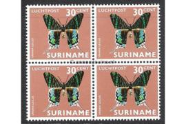 NVPH LP50 Postfris (30 ct) (Blokje van vier) Vlinders 1972