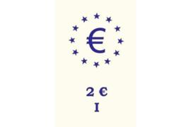 """Hartberger Rugetiket voor banden """"€-Logo + 2€-I"""""""