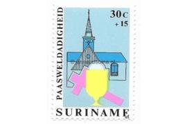 Zonnebloem 168 Postfris (30+15 cent) Paasweldadigheidzegels met toeslag 1979