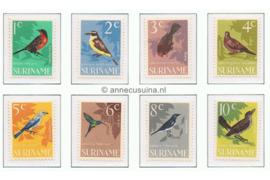 NVPH 439-446 Postfris Vogels