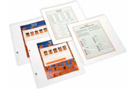 DAVO Luxe bladen Nederland EK postzegels 08 (5 velletjes) (2008)
