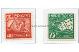 Nederland NVPH LP4-LP5 Postfris Koppen en Van der Hoop 1928