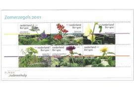Nederland NVPH 1973 Postfris Blok Zomerzegels 2001