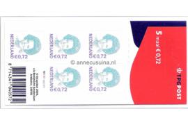 Nederland NVPH V2245 Gestempeld Velletje 5 x 0,72 euro met TPG Post logo 2004