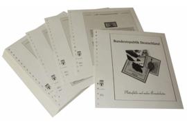 Lindner Inhouden / T-Voordruk albumbladen met folie voorbladen met stroken (Inhoud) Plaatfouten en andere bijzonderheden 1994-1995 (54 bladen) (Lindner 120BF-94)