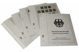 Lindner Inhouden / T-Voordruk albumbladen met folie voorbladen met stroken (Inhoud) Duitsland 1945-1949; Russische bezettingszone 1945-1949 (22 bladen) (Lindner 118D)