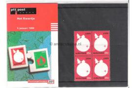 """NVPH M201 (PZM201) Postfris """"Het Kwartje"""" 1999"""