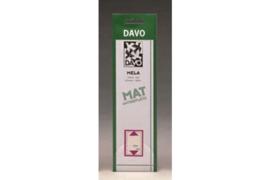 """DAVO Mela stroken """"Kant en Klaar"""" (21 x 25) 50 stuks"""