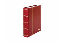 Lindner Insteekalbum Elegant (Luxe) Witte bladen/Rode kaft (Lindner 1162S-R)