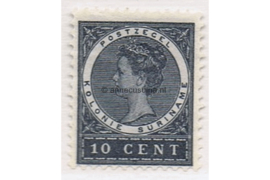 Suriname NVPH 48 Postfris (10 cent) Koningin Wilhelmina 1904-1908