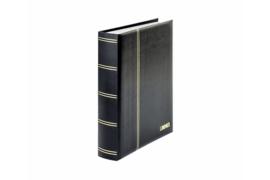 Lindner Insteekalbum Elegant (Luxe) Witte bladen/Zwarte kaft (Lindner 1162S-S)