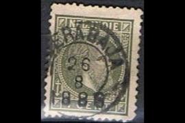 SOERABAJA 26-8-1886 op NVPH 4 (SvL 3)