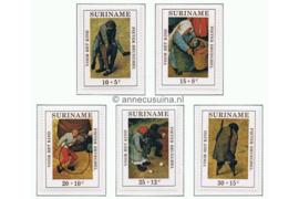 NVPH 568-572 Postfris Kinderzegels 1971, Pieter Brueghel